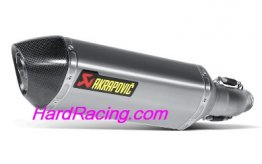 S-S6SO8-HZT  Akrapovic Titanium HEX Slip-on - '11-'17 GSX-R600/750