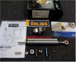 SD038  BMW Ohlins Steering Dampers,  '12-'18  BMW S1000RR