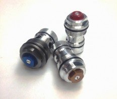 K-Tech  Showa RCU Compression Adjusters - KAWASAKI   (KXXX-B32-XX, 1812- B32-D1)