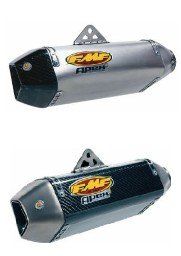 FMF Exhaust - Kawasaki  ZX10   '08-10 - FMF  Slip On Exhaust (42166, 42167)