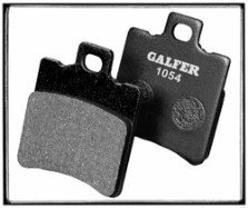 GALFER REAR Pads Black Carbon - 1054 Compound  FD-BLK-1054-Rr-xx