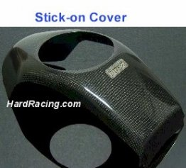 "TYGA Carbon Fiber Center Tank Cover - ""OG"" GROM ***  (STICK-ON)  ****- Honda GROM (BPCX-7028)"