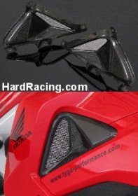 BPCX-7828  Tyga Performance 3D Carbon Side Vents - Honda GROM
