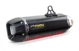 005-3890105-T   TWO BROTHERS - Full System w/ Carbon Canister  '13-15 Ninja 300 (TARMAC SERIES)