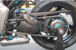 CARH7060  LighTech Carbon Fiber - Honda - CB 1000 R   '08 - '14 -Swingarm Protector