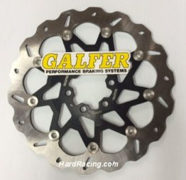 DF800CW / DF800CWS GALFER FRONT Floating Wave Rotor - '15-'17 KTM RC390  / 390 Duke