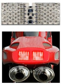 CLED-94916   LED Clear Tail Light - Retrofit Kit -   '94-'02  Ducati  916/995/996/998/748