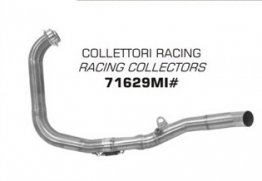 71629MI Arrow Stainless Racing Collectors ONLY - '15-'19 Yamaha R3 / R25