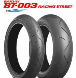 BRIDGESTONE Battlax BT-003 Racing Street Tires   140xx,134343