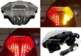 LED Clear Tail Light - '15-'19 Yamaha R3  (Includes FREE   Program Switch)