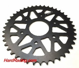 72202R   Drive Systems Superlite RS8-R Series 520  Rear Black Hard Anodized Aluminum Race Sprocket - '15-'16 KTM RC390 / 390 Duke