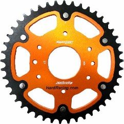 SuperSprox 520 Rear Steel/Aluminum Stealth Sprocket - '15-'16 KTM RC390 / 390 Duke  RST905