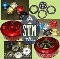 "FDU-S182   STM Slipper Clutch - Ducati  999S/R , 1198/S , 1098S/R/TRICOLORE , DESMOSEDICIRR , MONSTER1100/S , STREETFIGHTER   ""Evoluzione Racing SBK WITH Z48 BASKET AND PLATE SET""  (125mm) Slipper Clutch"