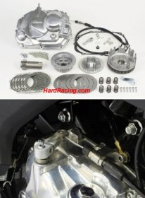 02-01-0382  Takegawa Clutch Cover Kit w/ Upgraded Clutch Discs, Springs, Basket - '17-'19 Kawasaki Z125 PRO  (SPECIAL ORDER ONLY )
