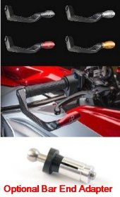 LighTech - Brake Lever Guards - 132 mm Aluminum  ISS107RA