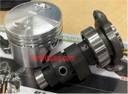 Kitaco High Compression Piston and High Performance Camshaft  Z125 PRO
