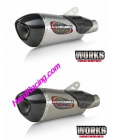Yoshimura Alpha T Race  Exhaust Works Finish Full System - '06-'17  R6  ( 13630AP520, 136301P720)