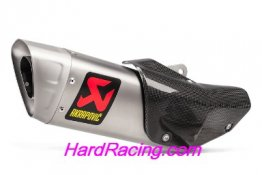 S-Y10SO16-HAPT   Akrapovic Titanium Slip On    -Yamaha  '15-'19 R1/M