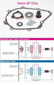 "Takegawa BEARING CrankSupport BEARING -   Honda '17-'20  GROM ""SF"" ONLY/ Monkey 125 '19-20  ( 01-10-0135 / 01-10-0138)"