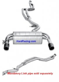 MTP-BM/SS/1H  Akrapovic EVOLUTION Exhaust Stainless - 2013-2015 BMW 435i (F32)