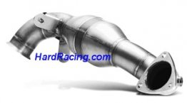 DP-MINR56/57  Akrapovic Stainless Downpipe (Optional part) - 2009-2014 MINI Cooper JCW (R56) / JCW Cabrio (R57)