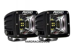 Rigid Industries LED Light Bar - RADIANCE SCENE  SERIES WHITE  BACKLIGHT SURFACE MOUNT PAIR 68200