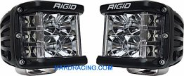 Rigid Industries LED Light Bar -  D-SS PRO  FLOOD PATTERN PAIR  262113