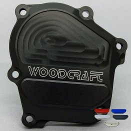 60-0145RB  Woodcraft Billet Alum. Engine Covers - RIGHT SIDE - '05-'06 ZX-636/6RR