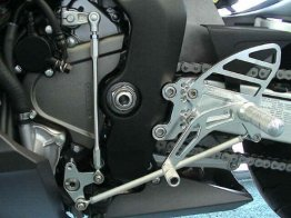 RS265k  Vortex Rear Sets - Honda '07-'17 CBR600RR V2 Series - BLACK