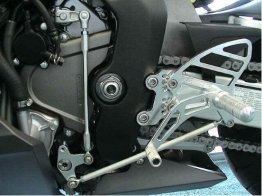 RS205k  Vortex Rear Sets - Honda '04-'07 Honda CBR1000RR / '03-'06 CBR600RR - BLACK
