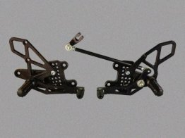 RS273k  Vortex Rear Sets - Honda '08-'16 CBR1000RR V2 Series - BLACK
