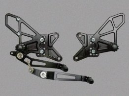 RS681k  Vortex Rear Sets - Yamaha '09-'14 R1 V2 Series - BLACK