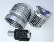 S1  Scotts Performance Stainless Steel Oil Filter (Honda / Kawasaki / Yamaha )