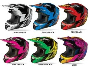 Fly Racing Helmets - Kinetic Inversion Graphic  (FORUM SPECIAL)