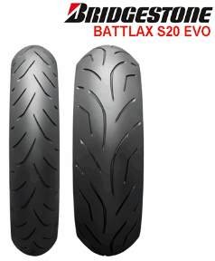 BRIDGESTONE Battlax S20 EVO Tires   002104, 0032xx