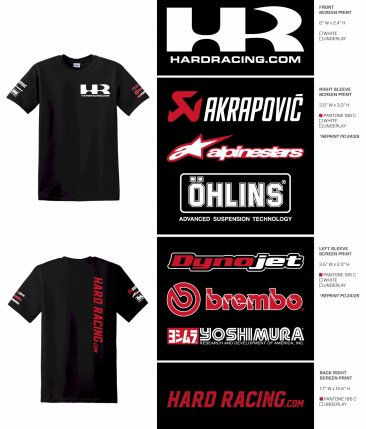 HardRacing.com T-Shirts (When purchased with ANY other Product over $50)